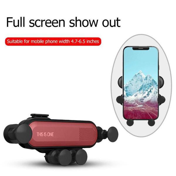 Gravidade suporte de celulares