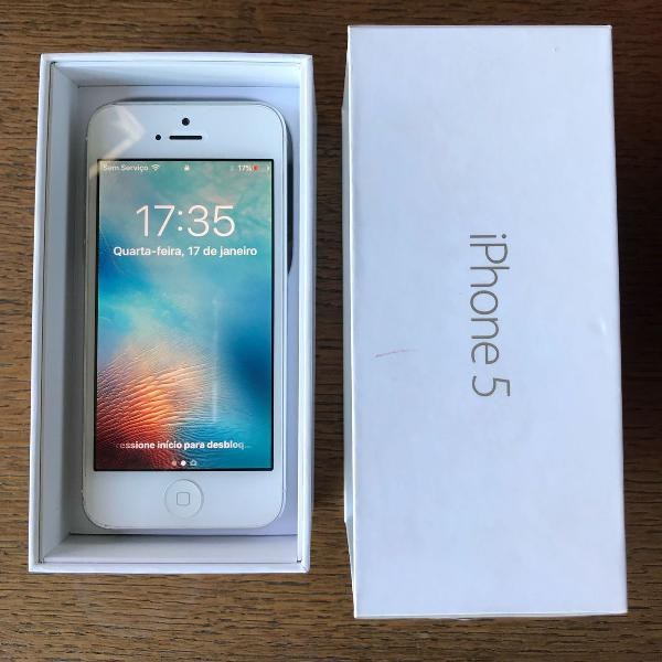 Iphone 5 prata