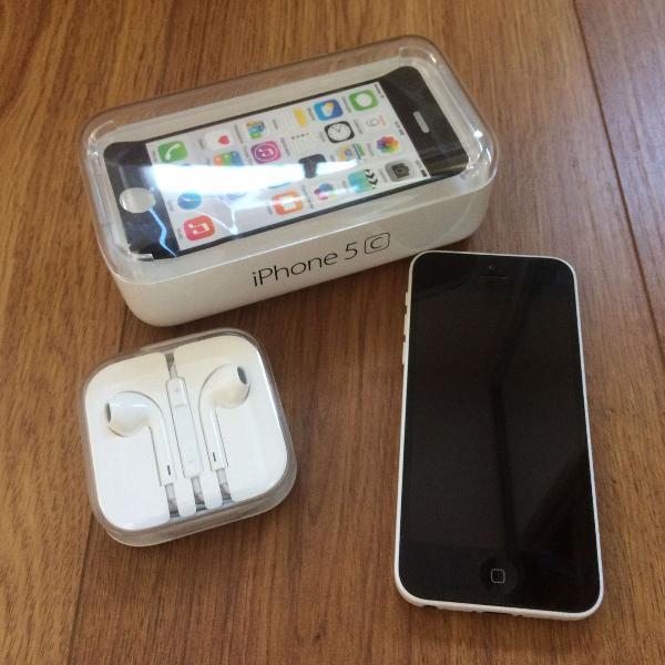 Iphone 5c, 8gb, branco