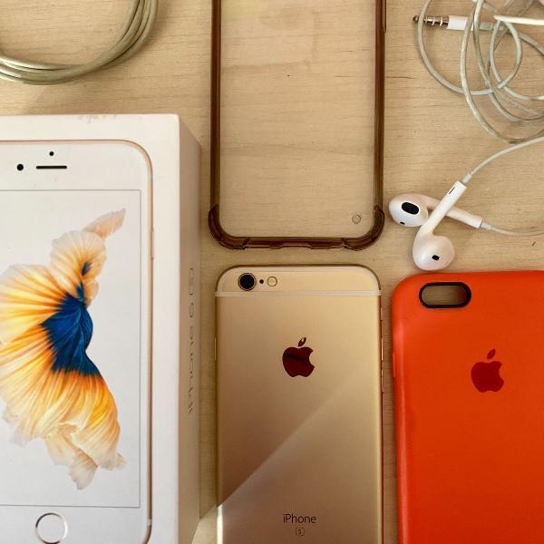 Iphone 6s dourado 64g