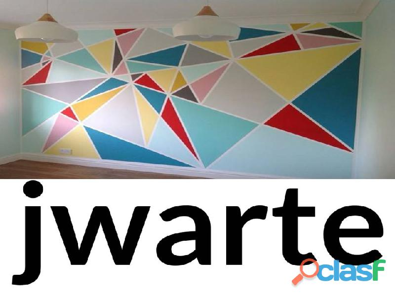 Jw arte pintura geometrica