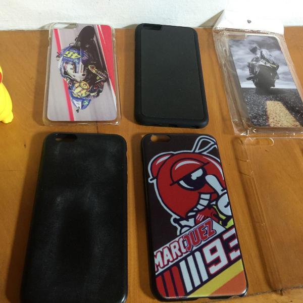 Kit conjunto case capinha iphone 6 plus