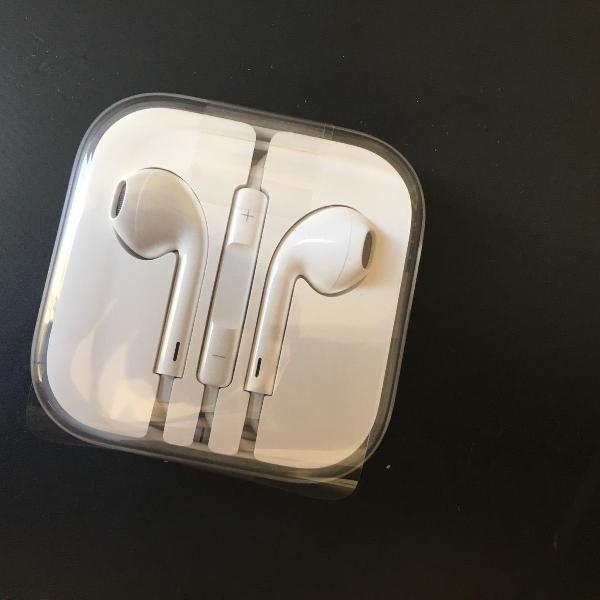 Novo fone de ouvido original apple