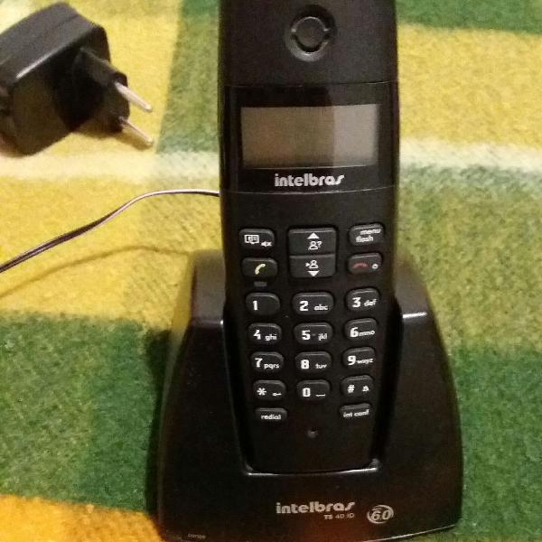 Telefone intelbras com identificador de chamadas