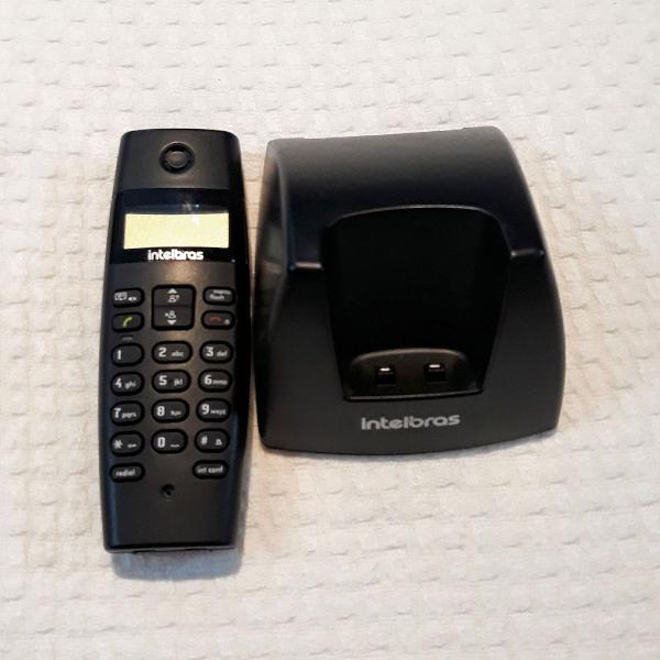Telefone sem fio + identificador chamadas intelbras