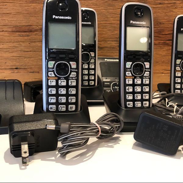 Telefone sem fio panasonic kx -tg 7621