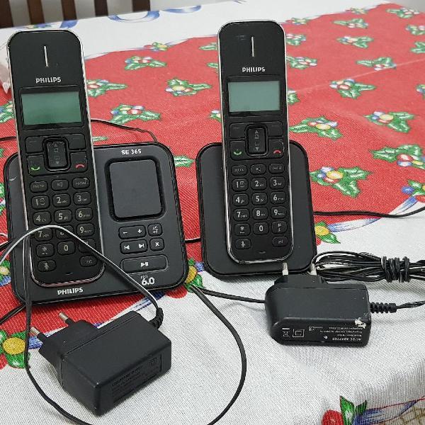 Telefone sem fio philips com extensão