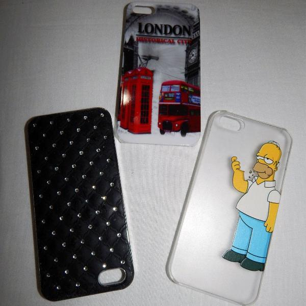 Trio case / capa iphone 5 / 5s / 5se