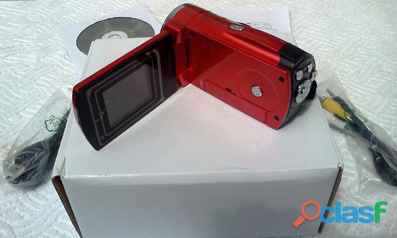 Vendo Filmadora Cam Modelo Spca 1528 Nova Na Caixa Com Acessórios 1