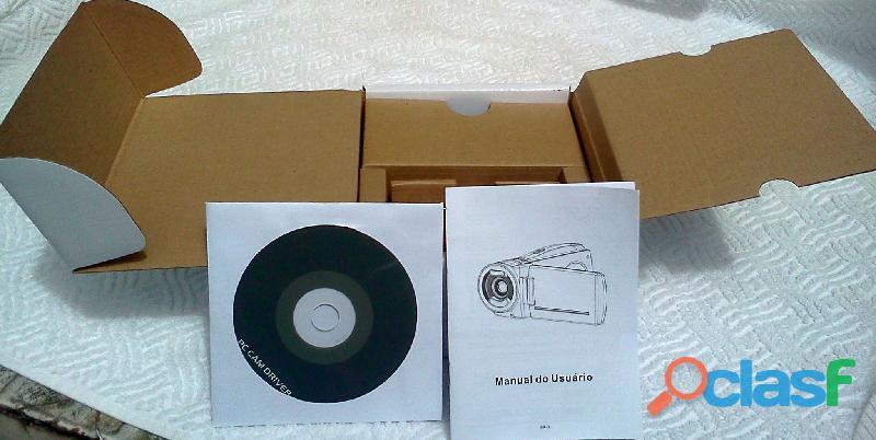 Vendo Filmadora Cam Modelo Spca 1528 Nova Na Caixa Com Acessórios 2