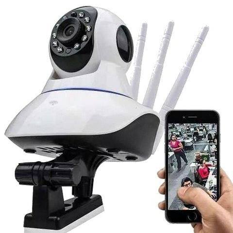 Câmera / kit com 3 câmeras / sistema de viva voz com