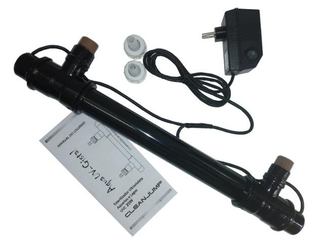Filtro uv-c 25w externo cleanjump lâmp. osram