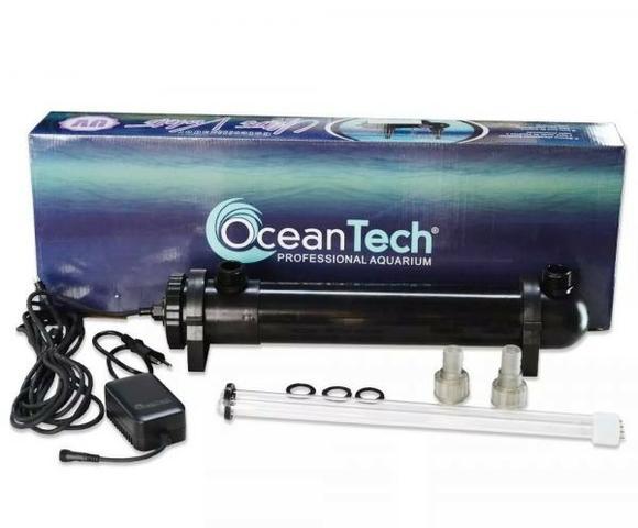 Filtro uv esterilizador 36w ocean tech aquários fontes