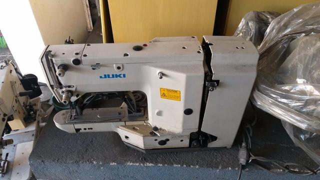 Máquina industrial travete/mosqueadeira juki usada
