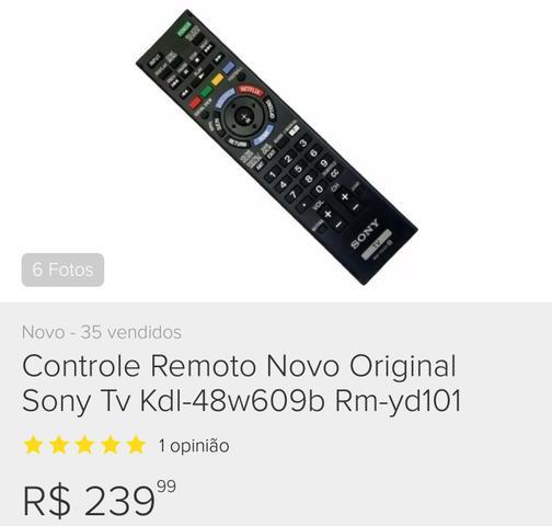 Vendo controle sony bravia smart original