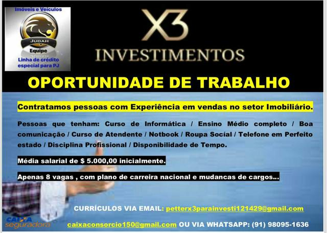 X3 investimentos