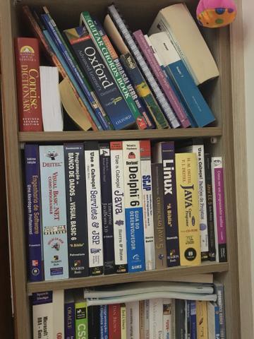 Acervo de livros de ti / inglês/ geral