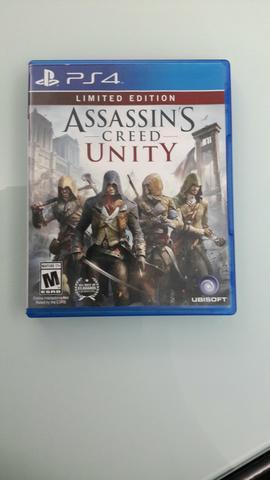 Assassin's creed unity - mídia física - ps4