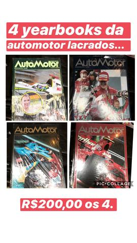 Auto motor yearbook 4 edicoes
