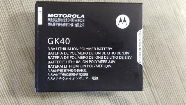 Bateria original moto g5