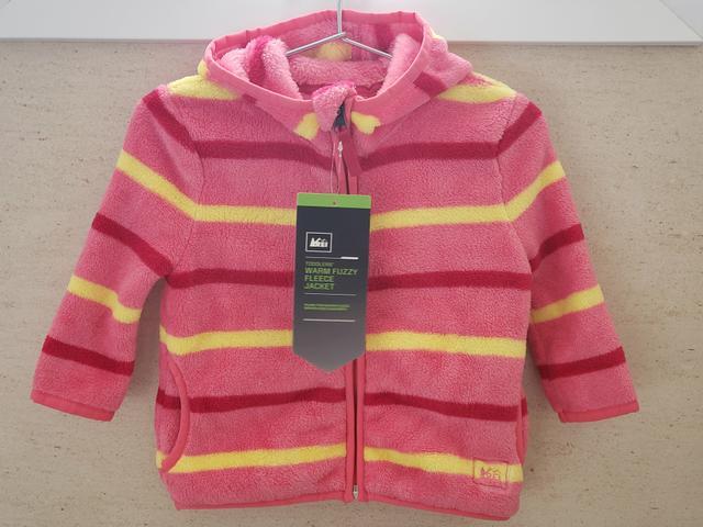 Jaqueta de fleece nova tam.12 meses