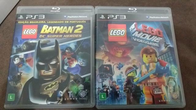 Lego batman e lego movie ps3