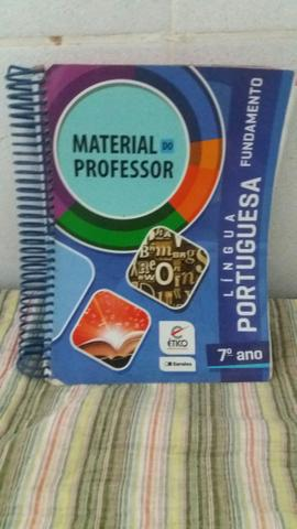 Livro- material do professor lingua portuguesa 7? ano