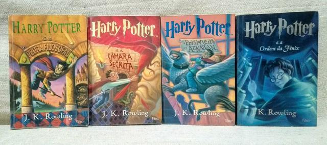 Livros da saga HARRY POTTER!
