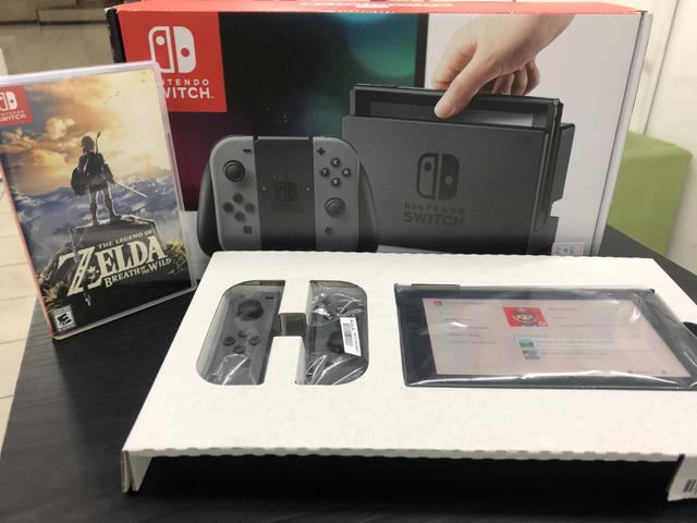 Nintendo switch::: na caixa > aceito ps4 (não acompanha