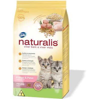 Ração naturalis gato filhote 10kg