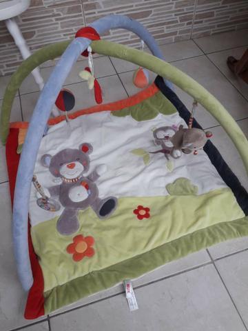 Tapete de atividades para bebê forest fun - nuk