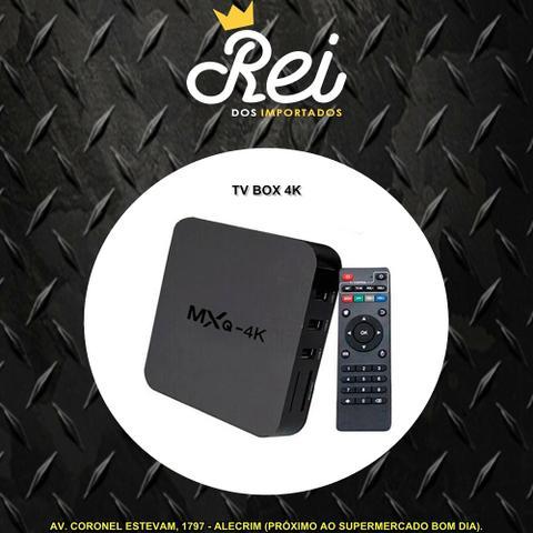 Tv box pra transformar sua tv em smart tv, youtube, netflix,