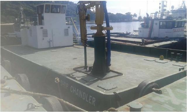 Balsa para transporte de carga