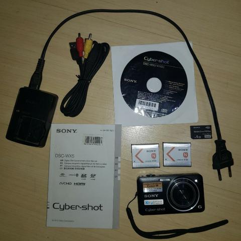 Câmera fotográfica sony 3d
