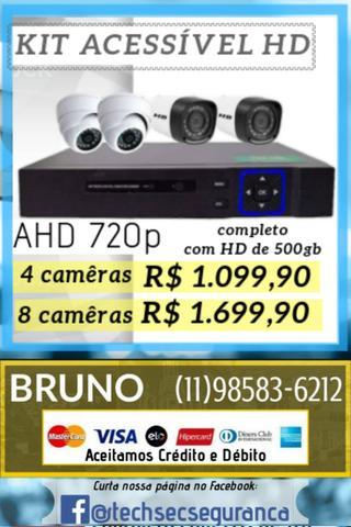 Câmeras de segurança hd