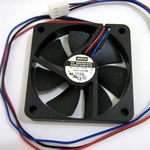 Micro ventilador 60x60x10mm fan cooler 12v 60mm