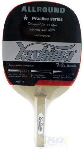 Raquete tenis ping pong yashima allround 80050 caneta