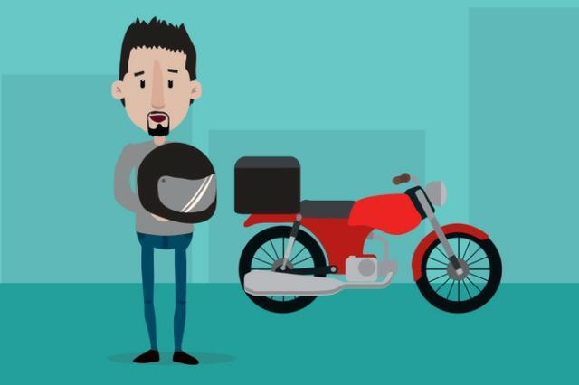 Motoboy para delivery com aplicativo - dia, noite e finais