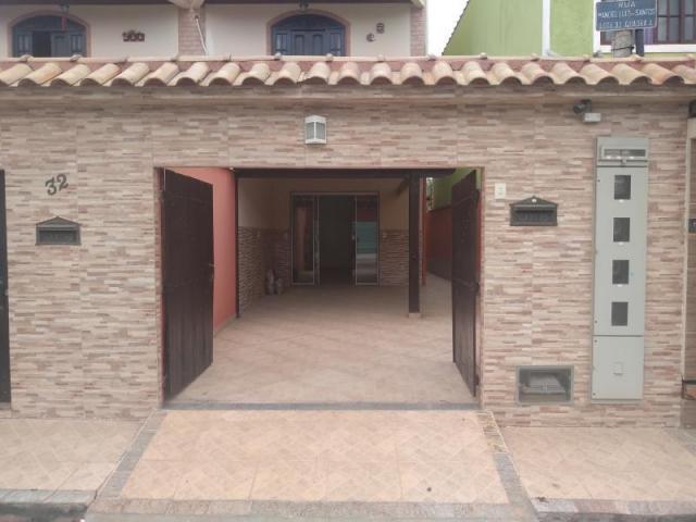 Casa para locação em queimados, centro, 2 dormitórios, 1