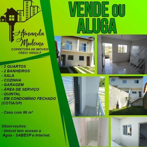 Locação ou venda - casa em condomínio fechado - próximo