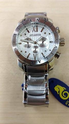 Relógio atlantis original prata