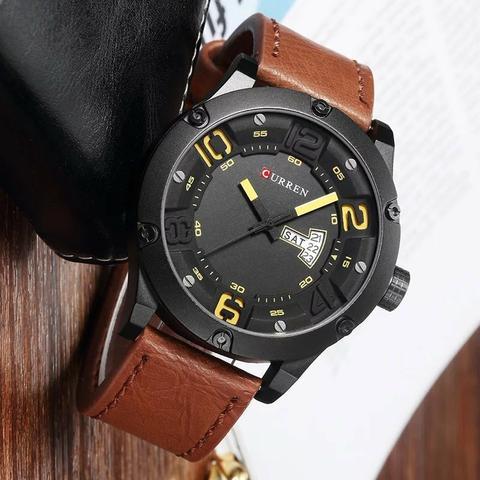 Relógio importado masculino original curren exclusivo