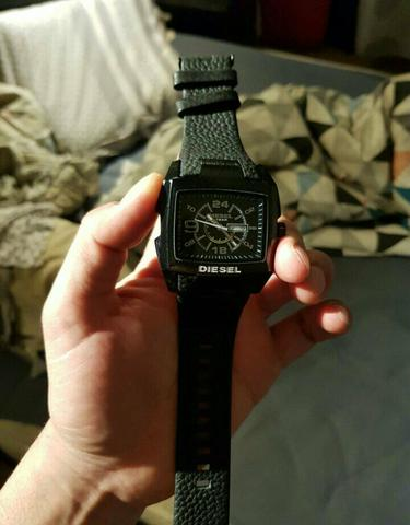 Relógio masculino diesel top aaa
