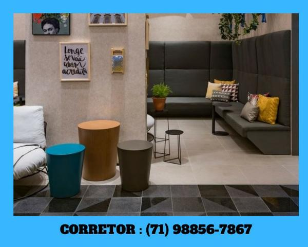 Apartamento 1 quarto,1 suíte, decorado, caminho das