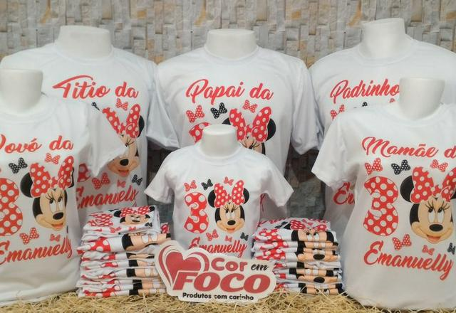 Camisetas Personalizadas Aniversário