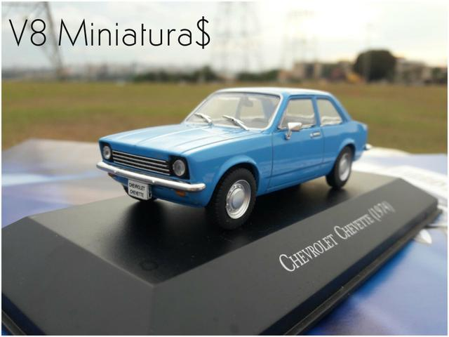 Miniatura chevrolet chevette 1974 chevrolet collection