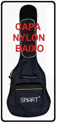 Capa baixo smart nylon preto 2 bolsos e zíper produto novo
