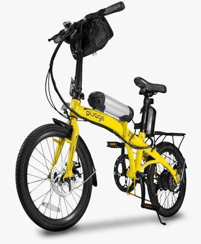 Bicicleta elétrica dobrável twodogs