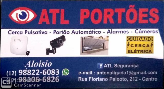 Portão automático (10 vezes de 68,00) instalado