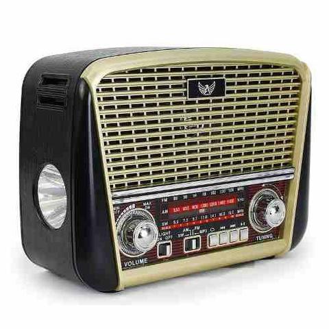Radio antigo retro j-107 altomex vintage am fm pen drive